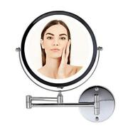 Ovente Vanity Mirror 13.2x1.6 In Tilting Lighted Framed Glam Metal Casual Chrome