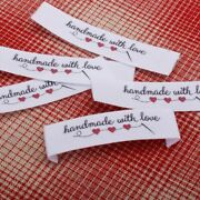 Custom Handmade Garment Labels Customized Your Name Business Printing Washable