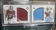 2016 National Treasures Derrick Henry Alabama/tennessee Titans Sp Rookie Booklet