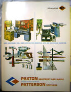 Frank Paxton Patterson Catalog Asbestos Dust In Vocational School Shop Class And03967