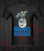 Marvel Comics Silver Surfer Guide To The Galaxy Menand039s T-shirt Usa Sz S - Xxl 30