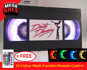 📼 Retro Usb Vhs Lamp   Dirty Dancing   Gift Idea For Her Xmas Christmas Present