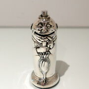 Sterling Silver Money Box Birmingham 1910 Horace Woodward And Co