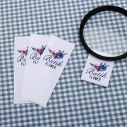 Custom Sewing Tags Personalized Garment Labels Logo Brand Name Text Label Crafts