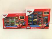 Disney Pixar Cars Mini Racers New 15-pack Set And 10 Pack Variety Ships Worldwide