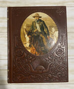 The Gunfighters- The Old West Life Time Series Leather Hardcover Book