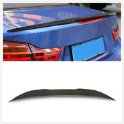 For 2014 + Bmw F22 M235i F23 F87 M2 Carbon Fiber Psm Style Rear Trunk Spoiler Aa
