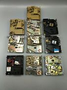Lot Of 10 - Vintage Coin Mechanism - Arcade/redemption Machines - 80s - Used