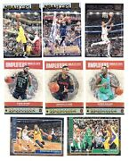 2018-19 Hoops Inserts Amplifiers Courtside Lights Camera Action - U Pick
