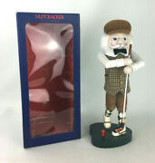 Nutcracker Village Collection 15 Tall Golfer In Box 2005