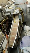 Ss And Painted Steel Incline Conveyor 11-3/8 W Belt X 78 Long X Low 16 Fill
