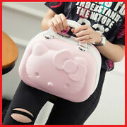 14 Inch Hello Kitty Cosmetic Case Beauty Makeup Bag Organizer Travel Suitcase