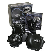 Randg Engine Case Covers Kits Compatible For Kawasaki Zx 10 R 2011 3 Pieces