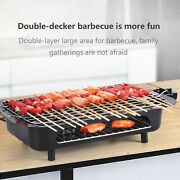 Electric Grill Table Top Bbq Barbecue Grill Indoor/outdoor Smokeless Bbq Griddle