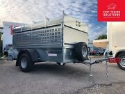 Nugent Utility Livestock U2213a Trailer And Ramp Sides Roof Rack 7and0391 X 4and0392 ✅