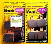 Kawasaki Z1000 07-09 Vesrah Sintered Front Brake Pads Full Set Made In Japan