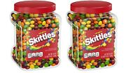 Skittles Original Fruity Candy Jar 54 Oz. 2 Pack Free And Fast Shipping