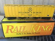 Mth Rail King 30 - 75151 O Scale Delaware And Hudson Ps-2 Hopper Car 12903