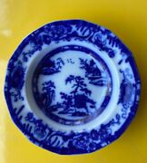 Flow Blue Transfer Ware Hong Kong Pattern By Charles Meigh Circa 1835andndash1861. 10andrdquo