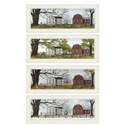 Four Seasons Collection Ii 4piece Vignette By Billy Jacobs Wood Multi-color