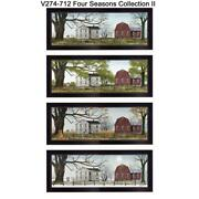 Four Seasons Collection Ii Collection By Billy Jacobs Wood Multi-color