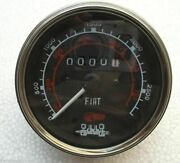 Tachometer Fits Fiat Long Hesston Universal Whiter / Oliver Mm Ac Tractors