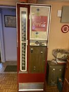 Older Coke Box. 7ft Tall By 2ft Will Hold 15 Coke Bottles Must Have Cash