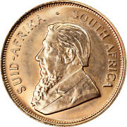 [891610] Coin South Africa 1/2 Krugerrand 1984 Ms Gold Km107