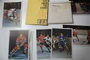 1963-64 Toronto Star Stars In Action Hockey Set And Booklet W/ Original Envelope