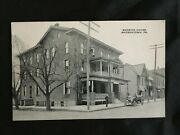 1910 Watsontown Pa. Northumberland County Mansion House Picture Photo