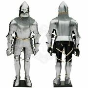 16ga Full Suit Of Armor 16th Century Wearable Suit Of Armor Halloween Costume