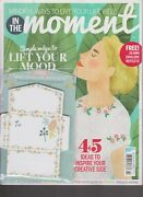 In The Moment Magazine 14 Aug 2018, W/ Free Mini Envelope Notelets.