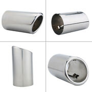Pair Of Car Exhaust Pipe Muffler Tips Fit For Touran For 325i 328i