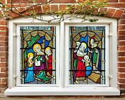 3d Church Book 130nao Window Film Print Sticker Cling Stained Glass Uv Block Fay