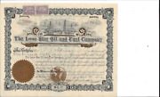 The Lone Star Oil And Fuel Company.....1901 Common Stock Certificate