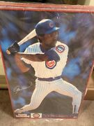 Vintage Framed Andre Dawson Sports Illustrated Poster - Chicago Cubs New