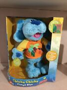Fisher Price Blues Clues Interactive Singing Dancing 13andrdquo Plush Dog Doll Toy
