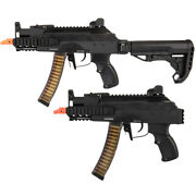 Gandg Prk9 Pdw Aeg Airsoft Rifle W Electronic Trigger Unit Mosfet And Deans Grk-9mm