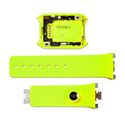 Yellow/orange Back Cover+watchband Strap Repair Set For Samsung Gear Sm-v700