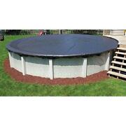 18and039 Round Economy Above Ground Swimming Pool Winter Cover 8 Year Warranty