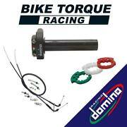 Domino Xm2 Quick Action Throttle And Universal Cables To Fit Black Douglas Bikes