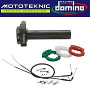 Domino Xm2 Quick Action Throttle And Universal Cables To Fit Ural Bikes