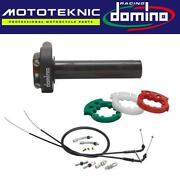 Domino Xm2 Quick Action Throttle And Universal Cables To Fit Vintage Bikes