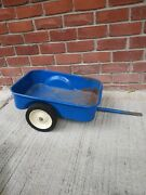 Ertl Ford Pedal Tractor Cart Wagon Trailer