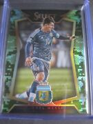 Lionel Messi /249 Card Panini Select Soccer Obsidian Jersey Prizm World Cup Noir