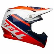 Bell Moto-9 Mips Helmet - Prophecy Gloss Infrared/navy/gray - L Large