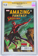 Amazing Fantasy 15 Spider-man Nn Exclusive Cgc Ss 9.8 Silver Signed By Stan Lee