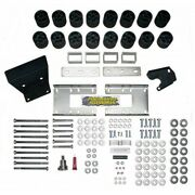 3 Body Lift Kit For 09-17 Dodge Ram 1500 And Ram Rebel Including Air-ride Gas