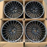 22 Mult Spoke Staggered Style Wheels Rims Fits For Mercedes Benz W167 Gle Class