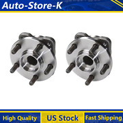 Fits 1996 Plymouth Grand Voyager Front Wheel Bearing And Hub Assembly Moog 2pcs